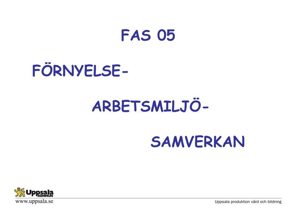 FAS 05 FÖRNYELSE- ARBETSMILJÖ- SAMVERKAN