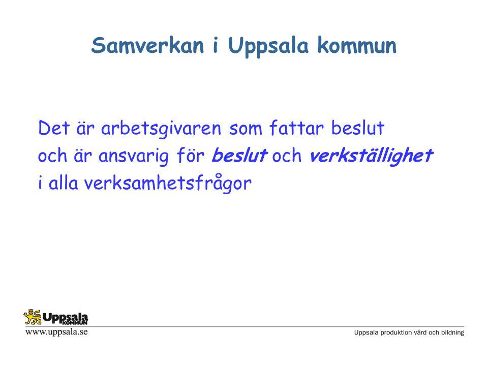 Samverkan i Uppsala kommun