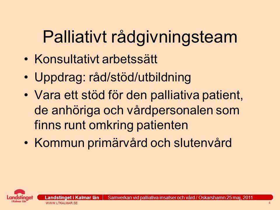 Palliativt rådgivningsteam