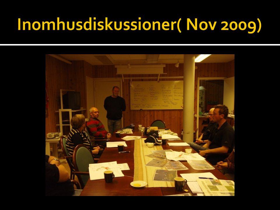 Inomhusdiskussioner( Nov 2009)