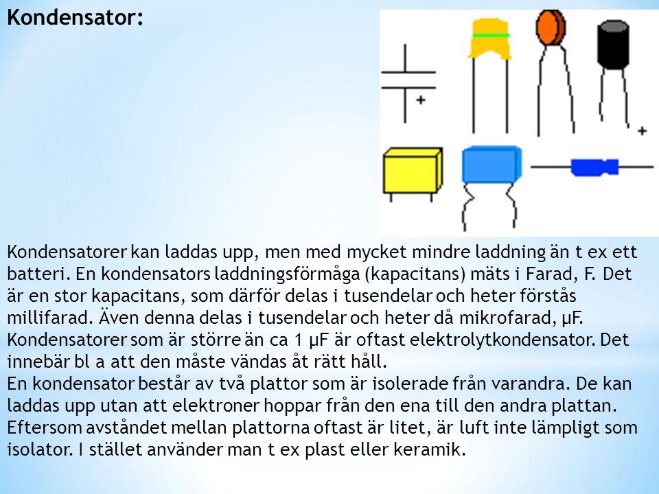 Kondensator: