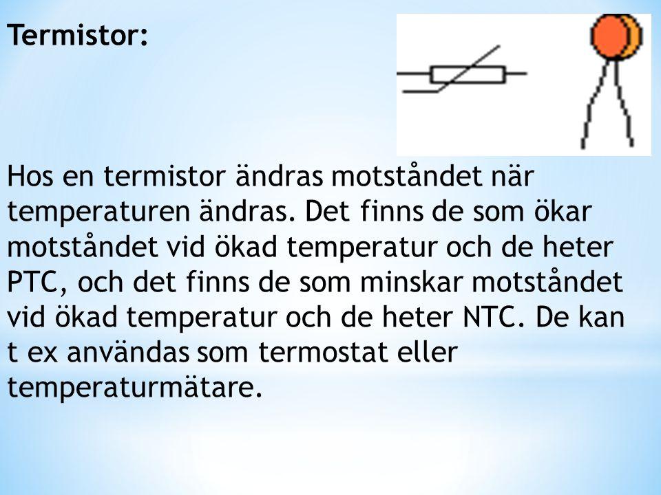 Termistor: