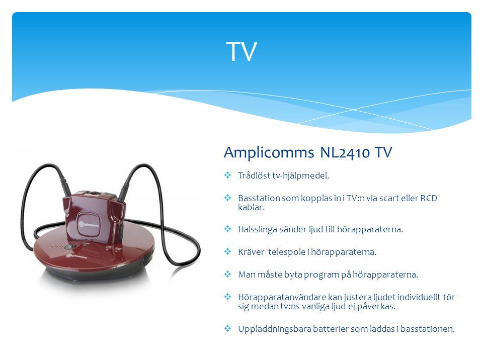 TV Amplicomms NL2410 TV Trådlöst tv-hjälpmedel.