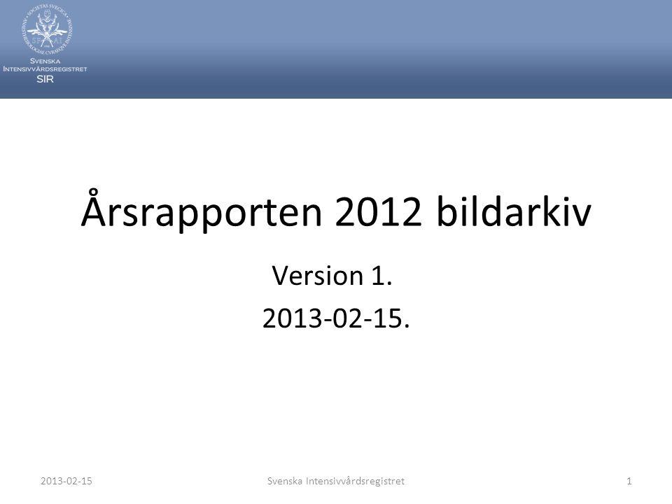 Årsrapporten 2012 bildarkiv