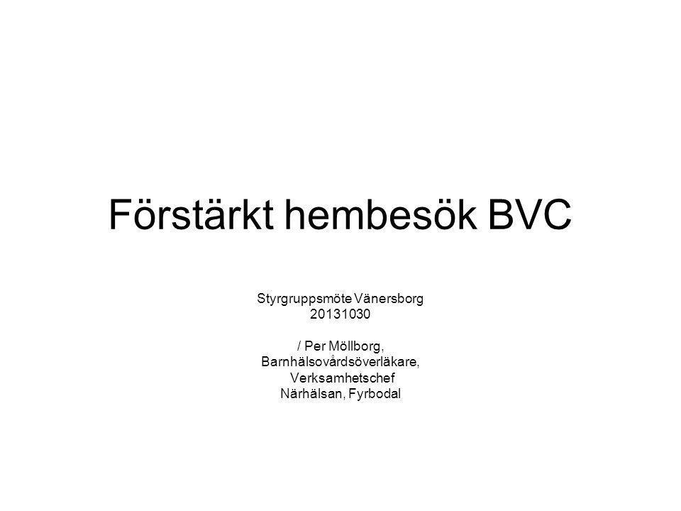 Förstärkt hembesök BVC