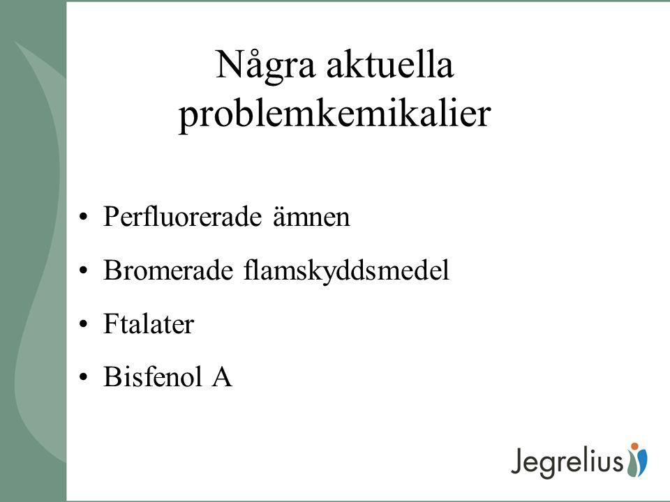 Några aktuella problemkemikalier