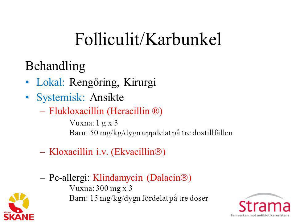 Folliculit/Karbunkel