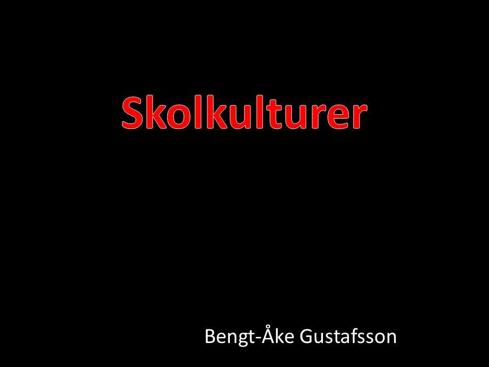Skolkulturer Bengt-Åke Gustafsson