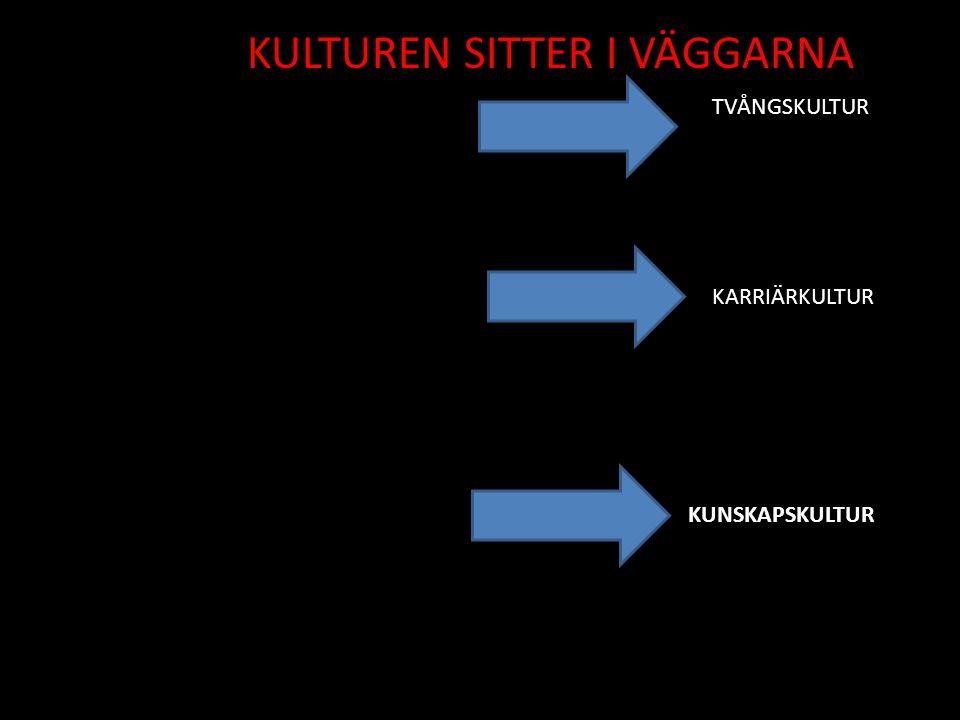 KULTUREN SITTER I VÄGGARNA