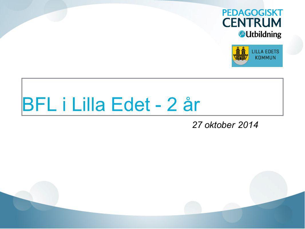 BFL i Lilla Edet - 2 år 27 oktober 2014