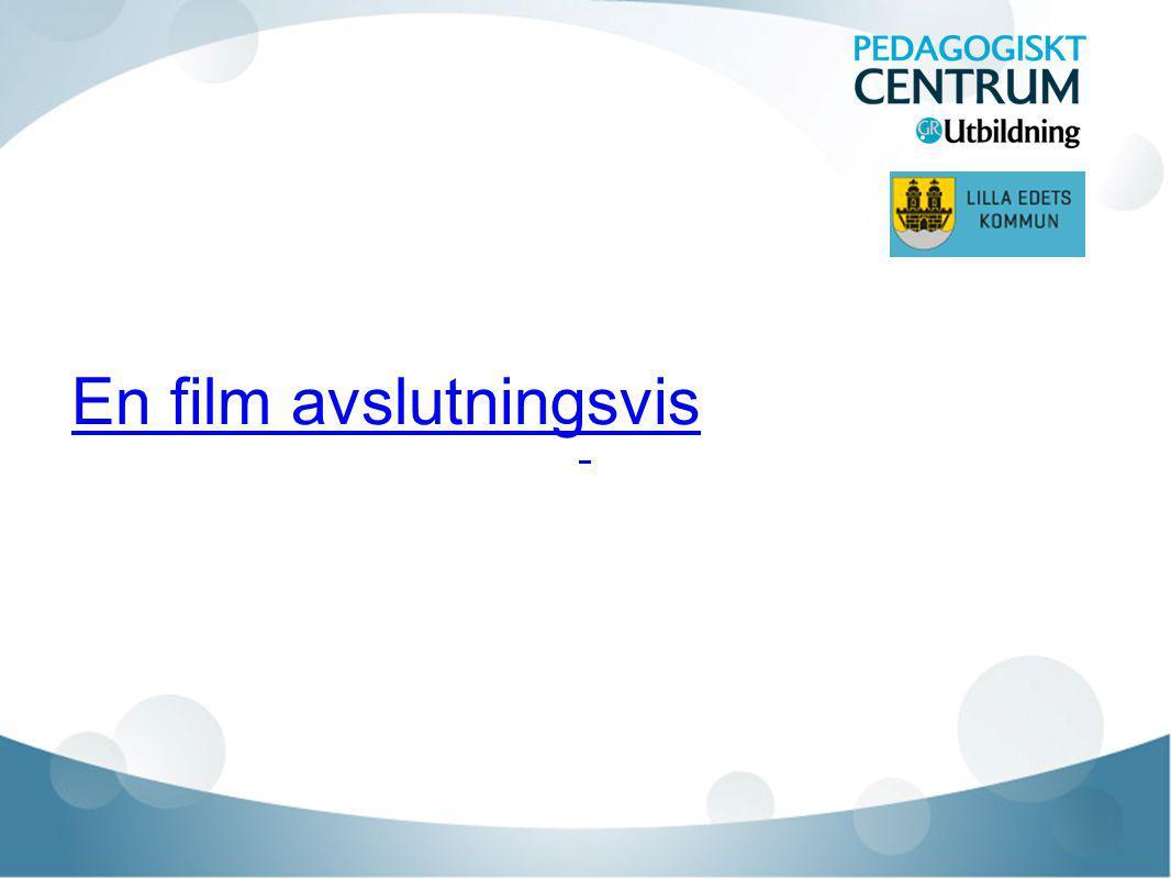 En film avslutningsvis