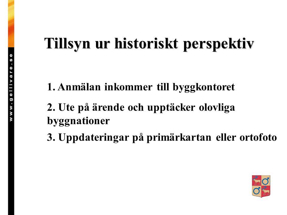 Tillsyn ur historiskt perspektiv