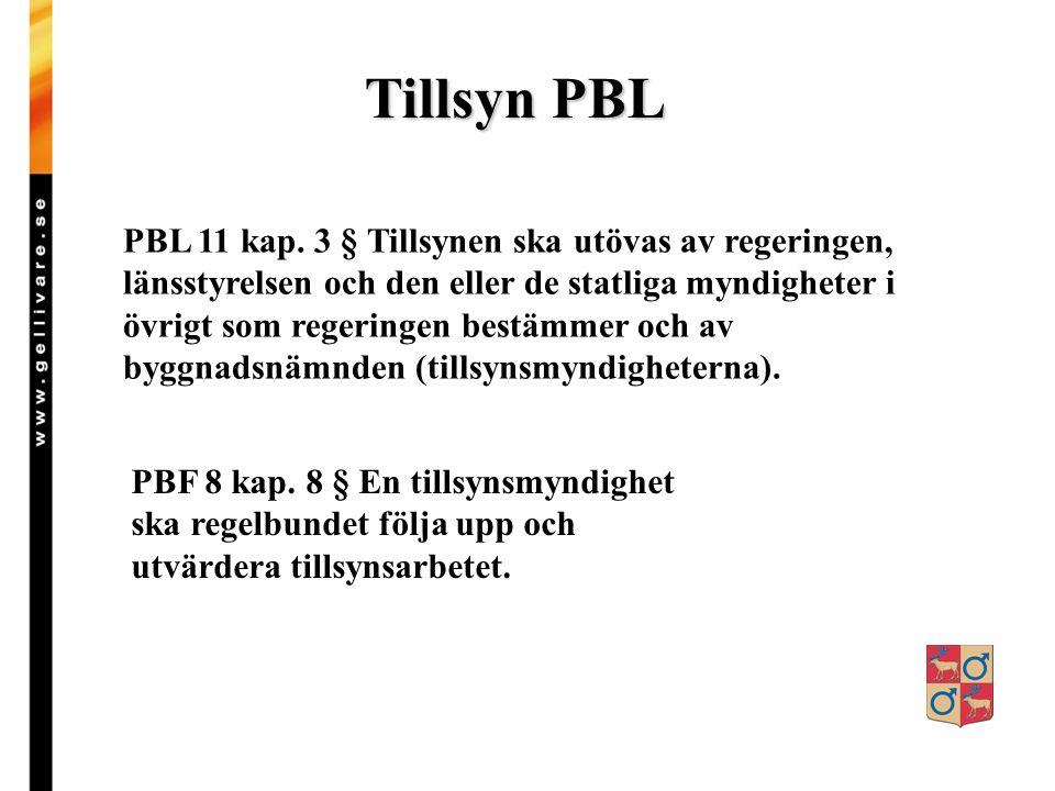 Tillsyn PBL