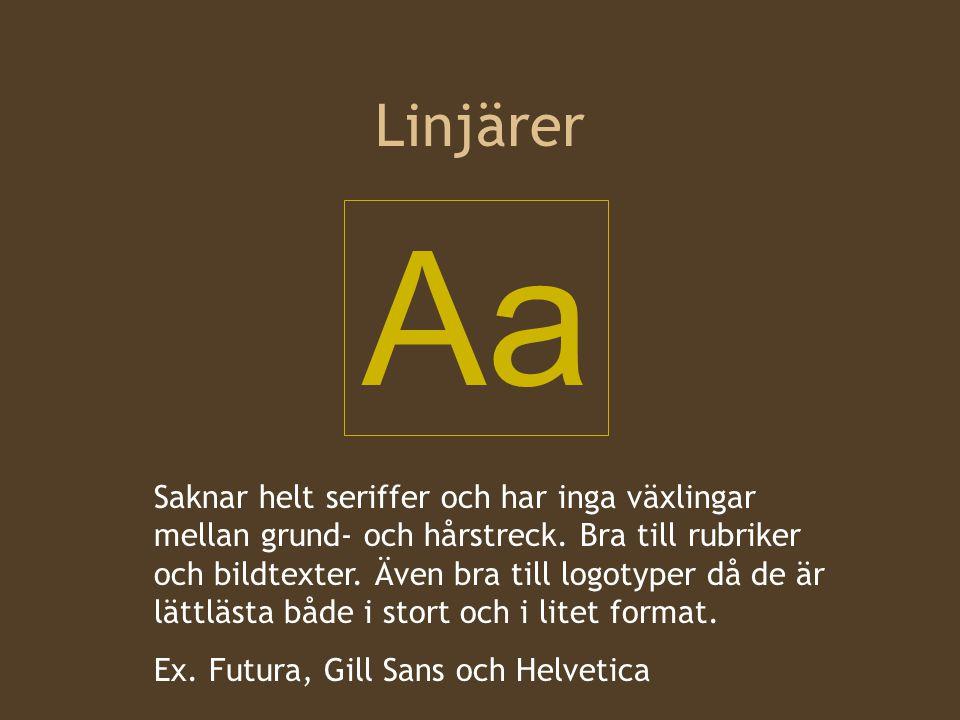 Linjärer Aa.