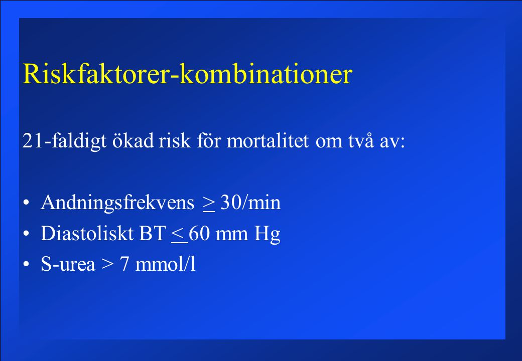 Riskfaktorer-kombinationer