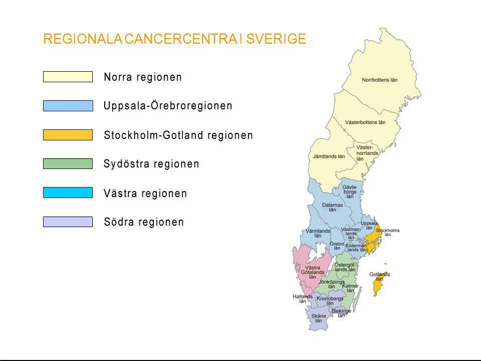 REGIONALA CANCERCENTRA I SVERIGE