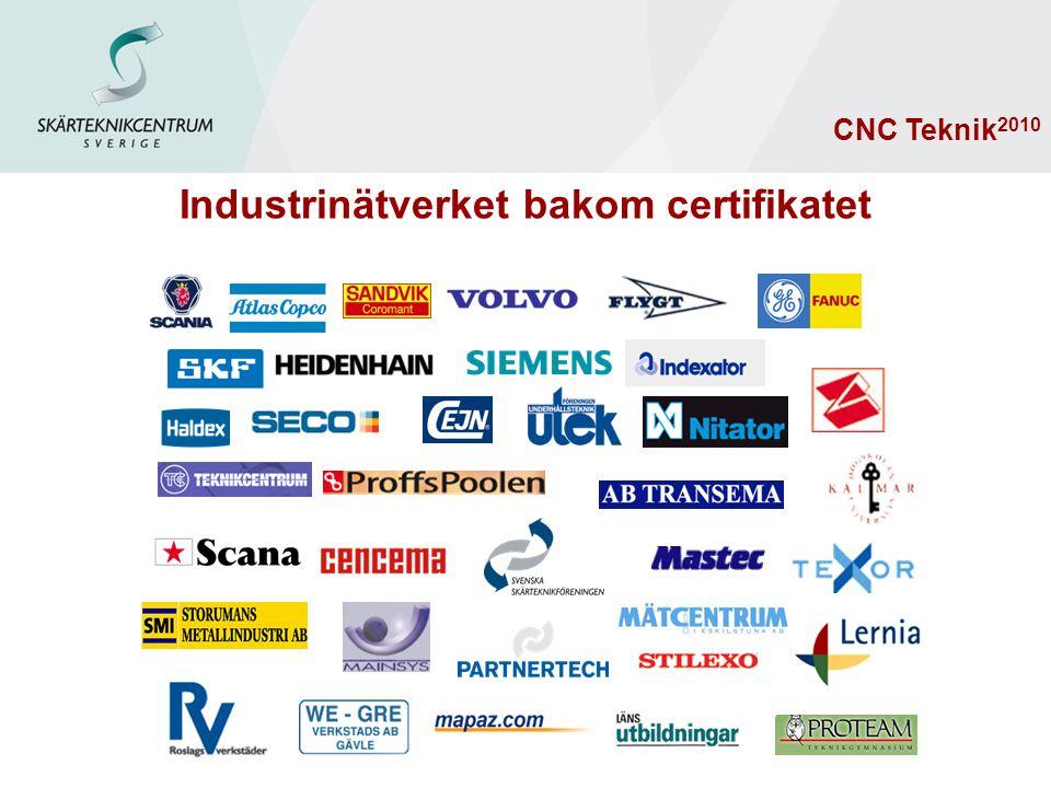 Industrinätverket bakom certifikatet