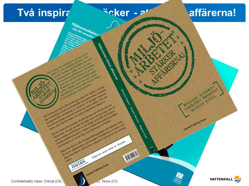 Två inspirationsböcker - att stärka affärerna!