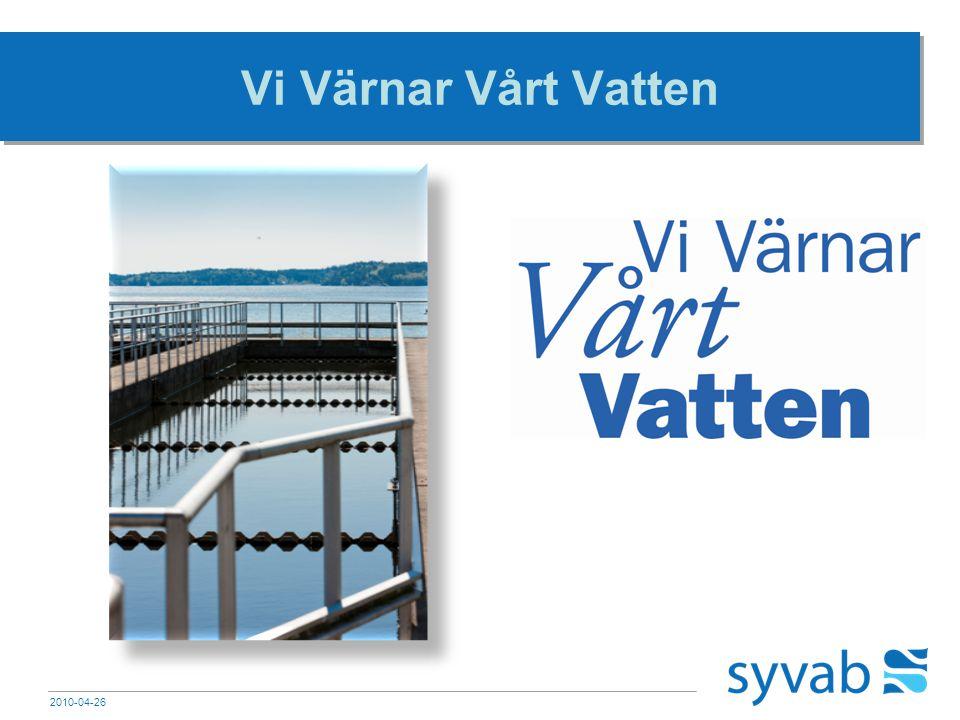Vi Värnar Vårt Vatten 2010-04-26