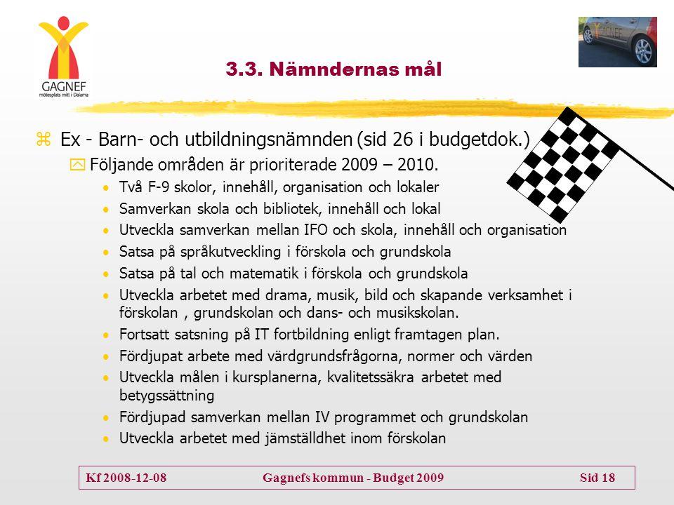 Ex - Barn- och utbildningsnämnden (sid 26 i budgetdok.)