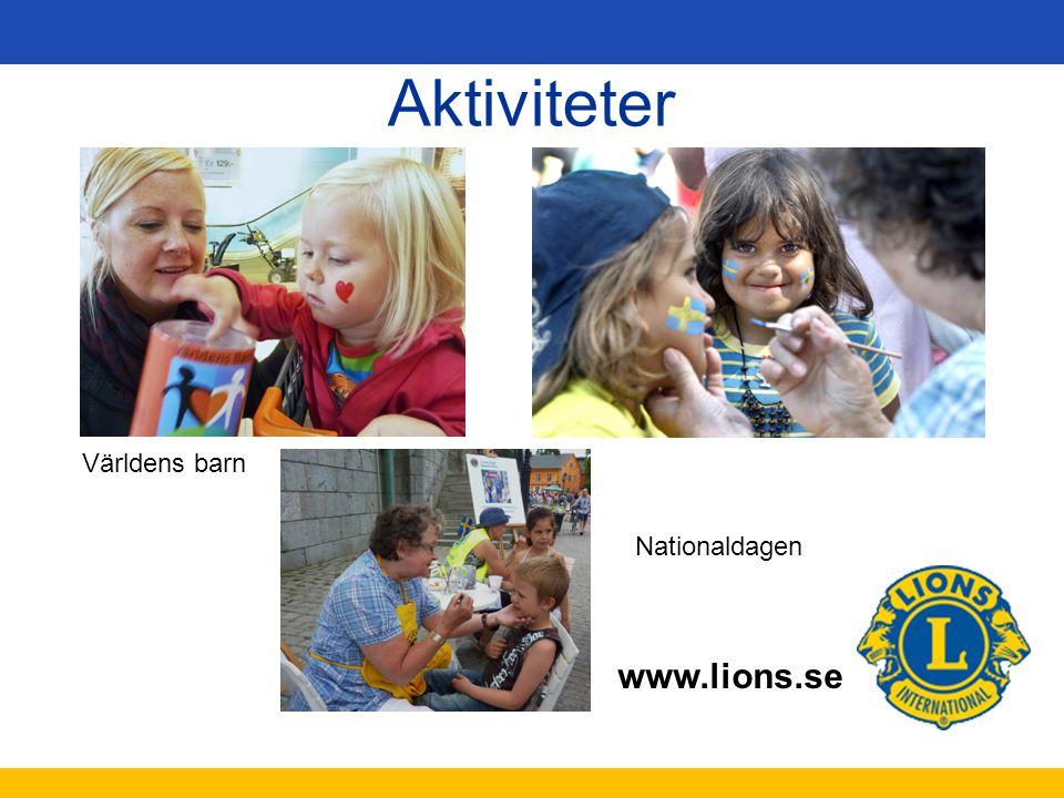 Aktiviteter Världens barn Nationaldagen