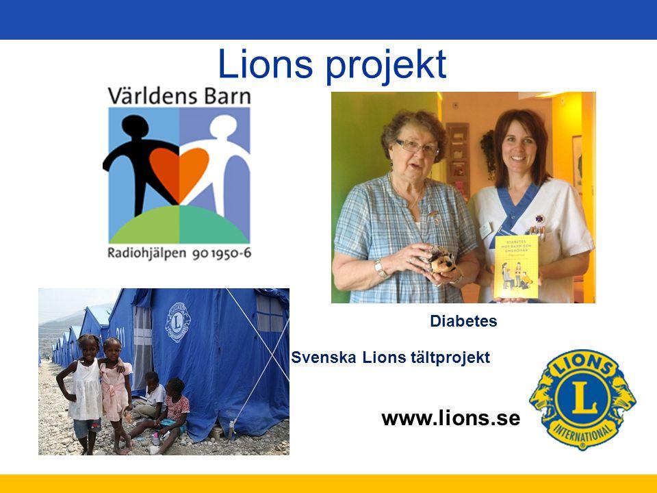 Svenska Lions tältprojekt