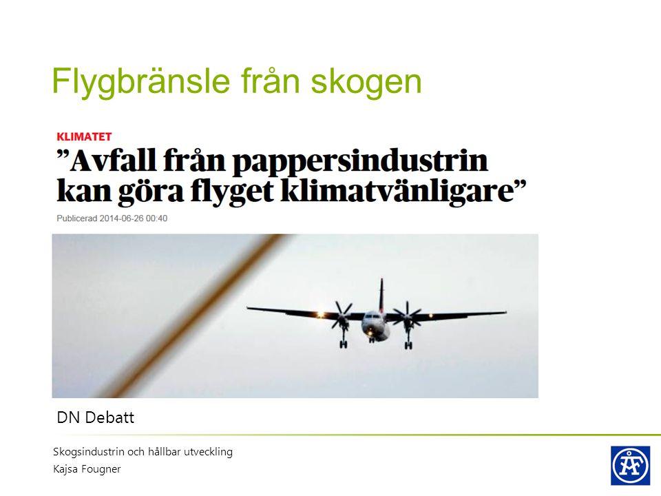 Flygbränsle från skogen