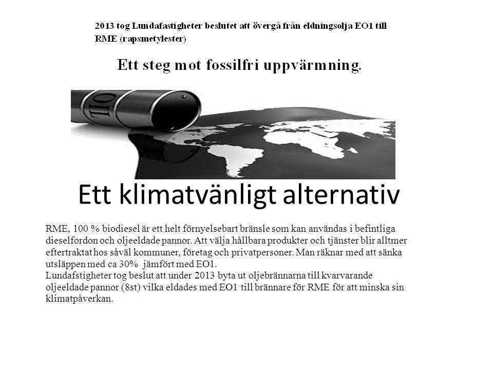 Ett klimatvänligt alternativ