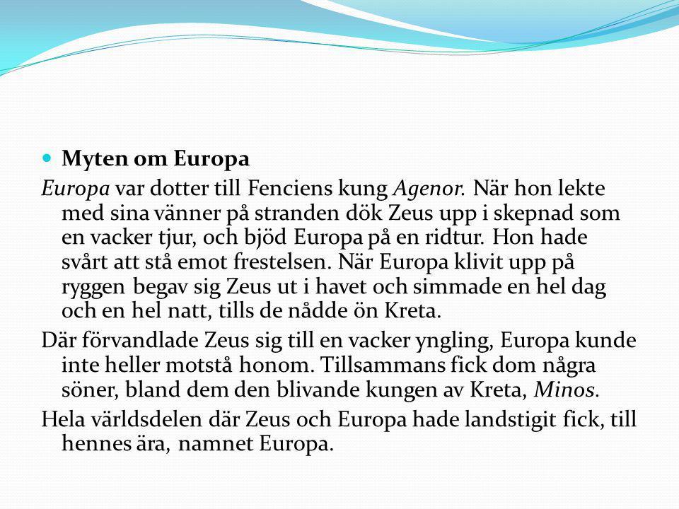 Myten om Europa