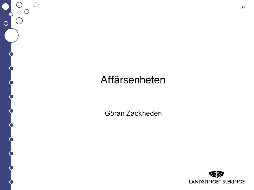 Affärsenheten Göran Zackheden