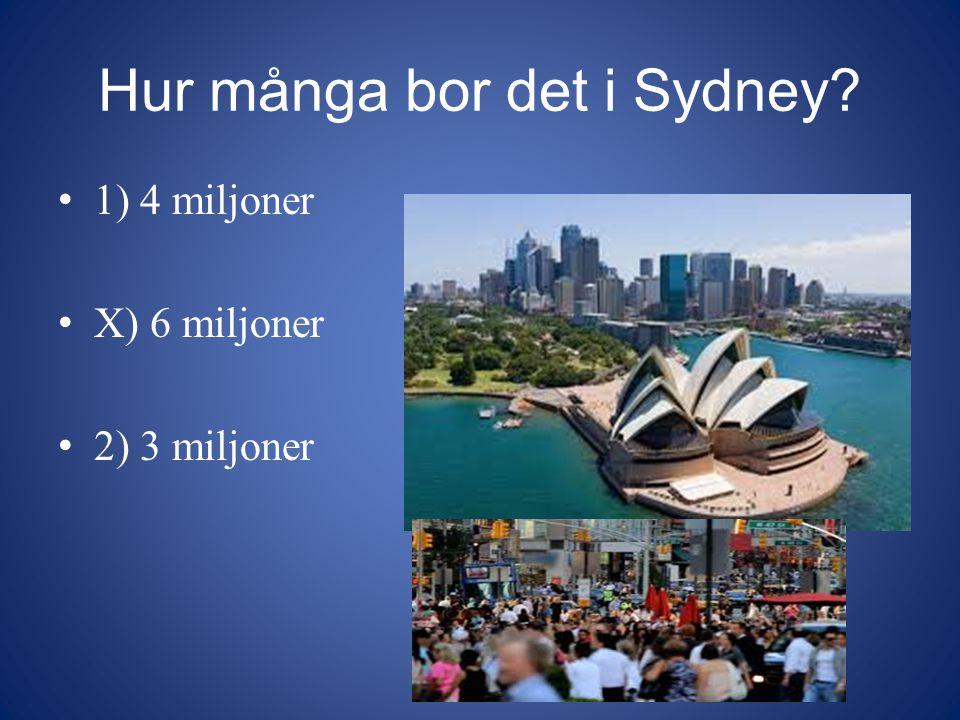 Hur många bor det i Sydney