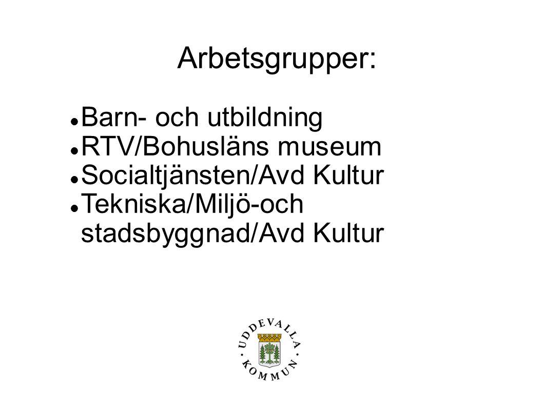Arbetsgrupper: Barn- och utbildning RTV/Bohusläns museum