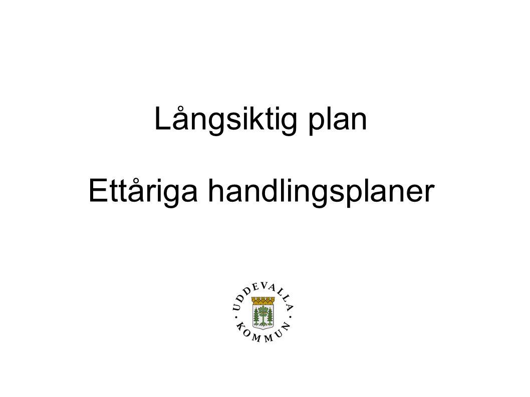 Ettåriga handlingsplaner