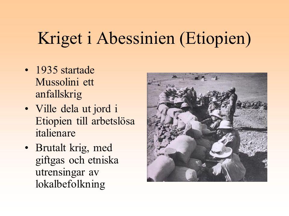 Kriget i Abessinien (Etiopien)