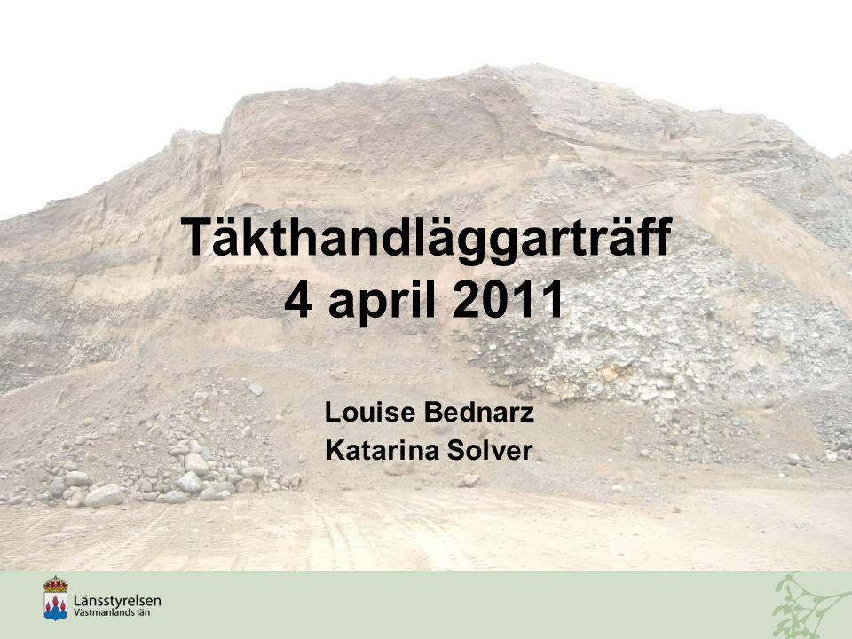 Täkthandläggarträff 4 april 2011