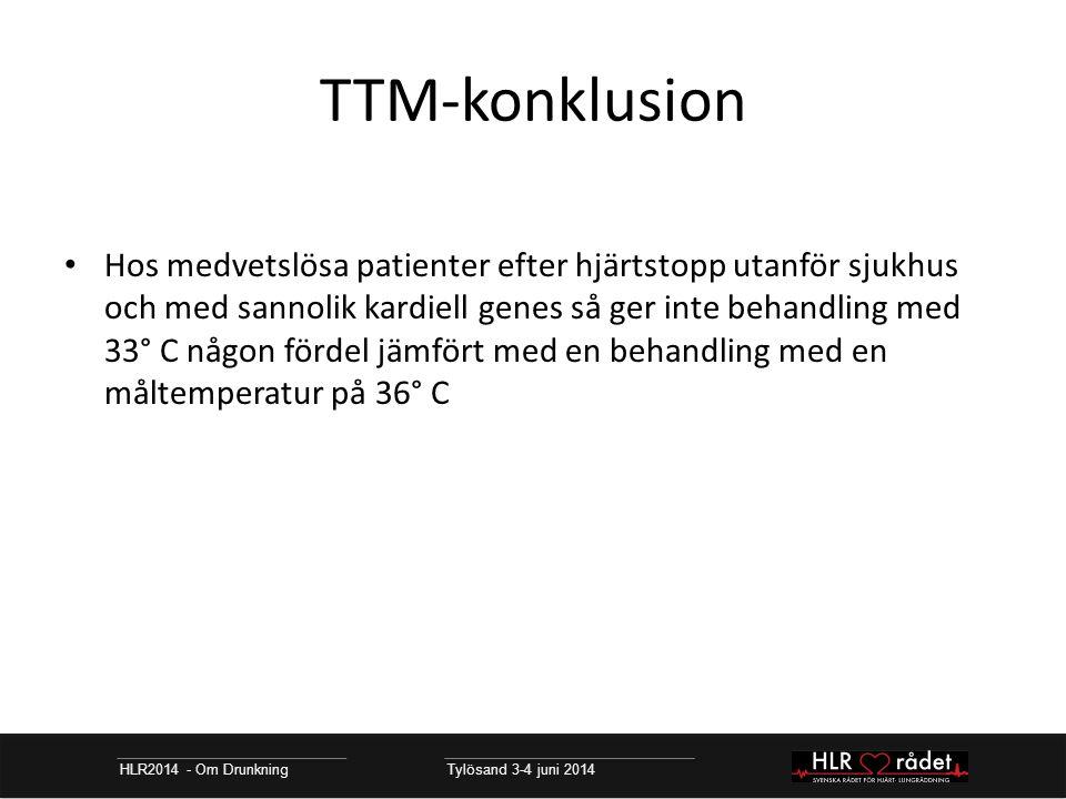 TTM-konklusion