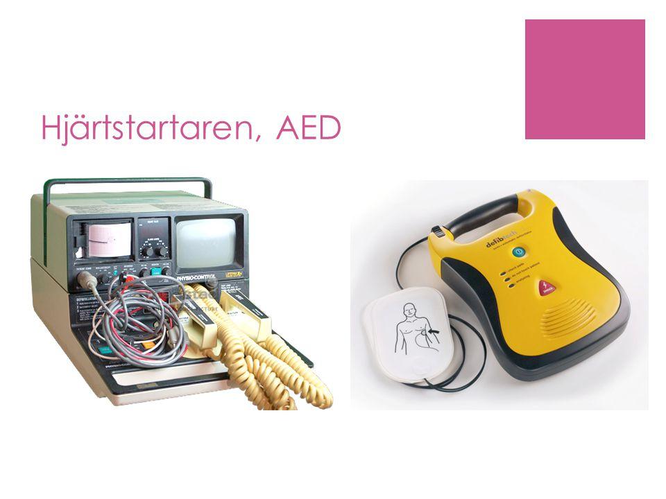 Hjärtstartaren, AED 1960 Första mobila deffen