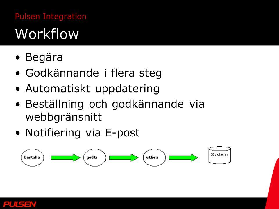 Workflow Begära Godkännande i flera steg Automatiskt uppdatering