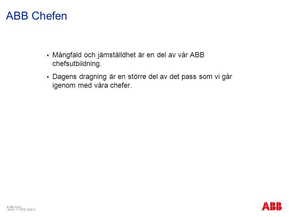 ABB Chefen Mångfald och jämställdhet är en del av vår ABB chefsutbildning.