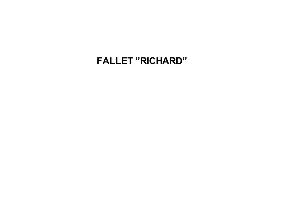FALLET RICHARD
