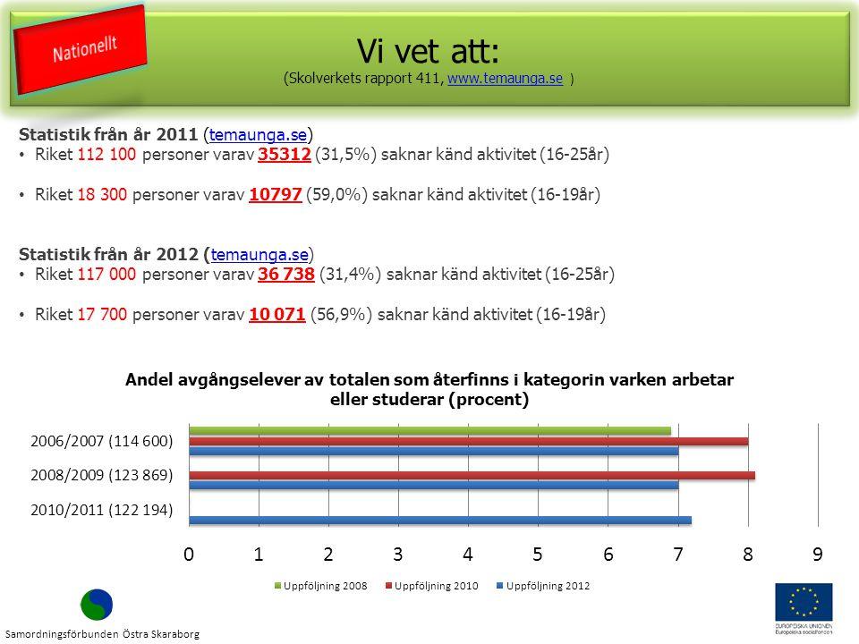 (Skolverkets rapport 411, www.temaunga.se )