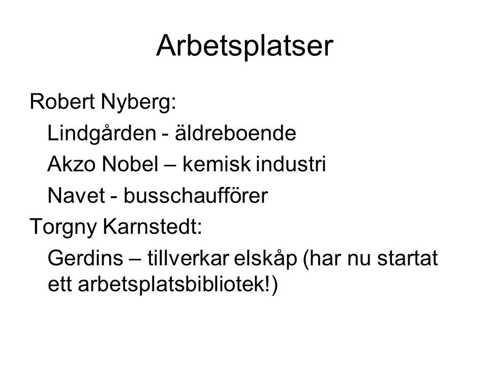 Arbetsplatser Robert Nyberg: Lindgården - äldreboende