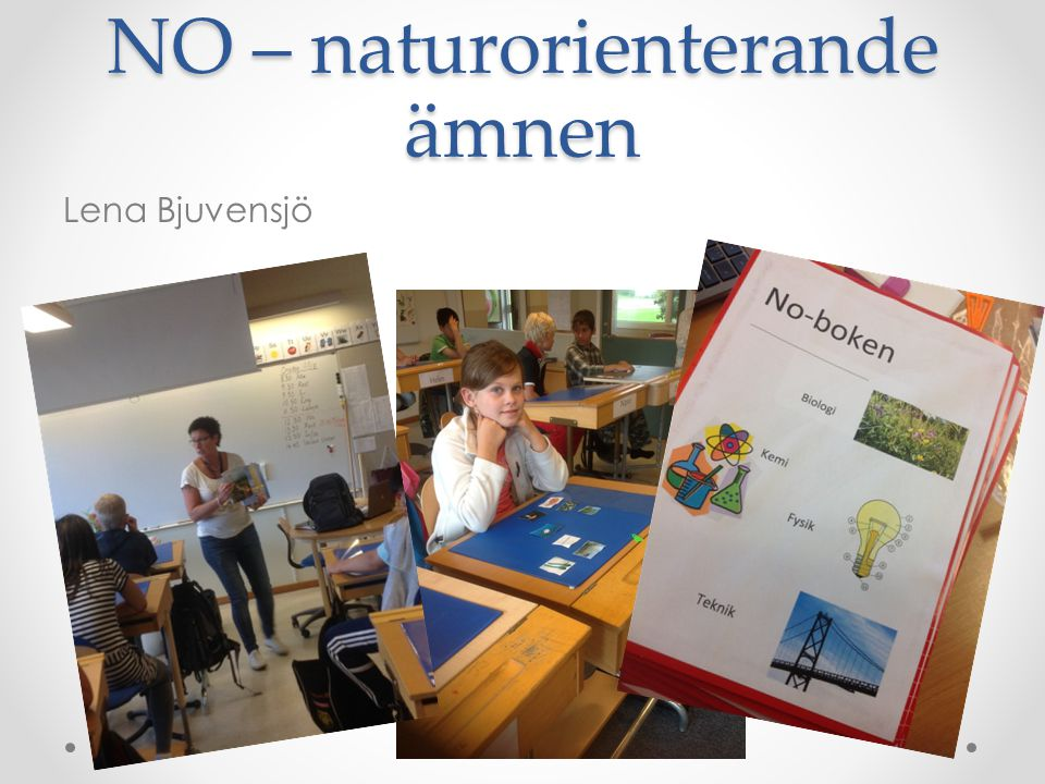 NO – naturorienterande ämnen