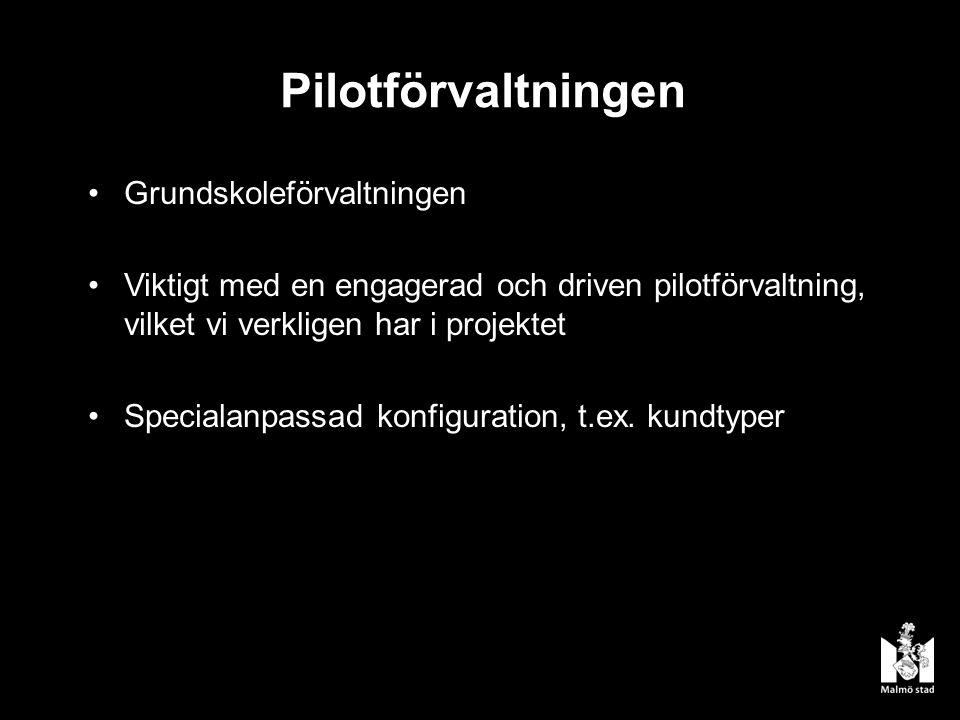 Pilotförvaltningen Grundskoleförvaltningen