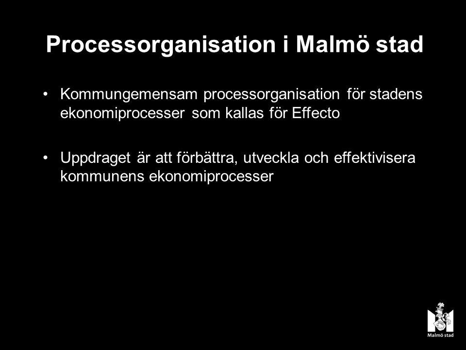 Processorganisation i Malmö stad