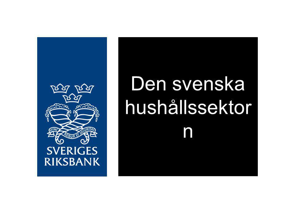 Den svenska hushållssektorn