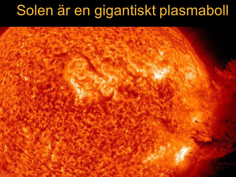 Solen är en gigantiskt plasmaboll