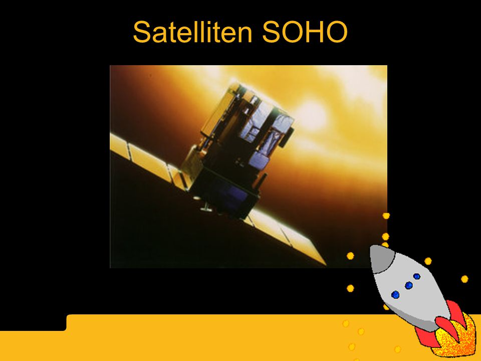 Satelliten SOHO Solen SOHO satellite NASA