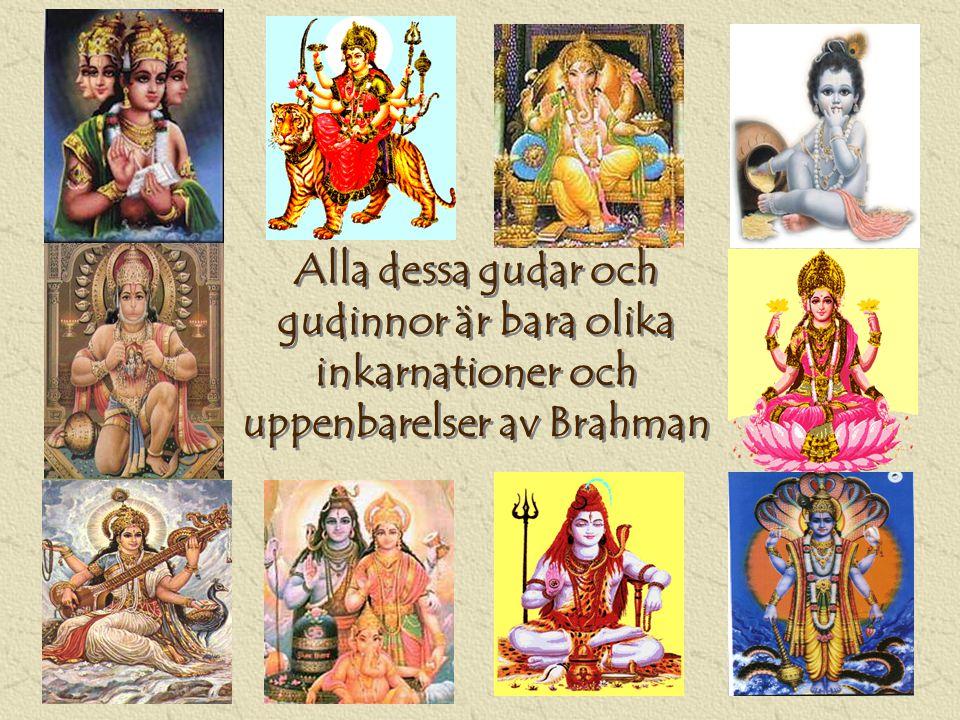 Alla dessa gudar och gudinnor är bara olika inkarnationer och uppenbarelser av Brahman