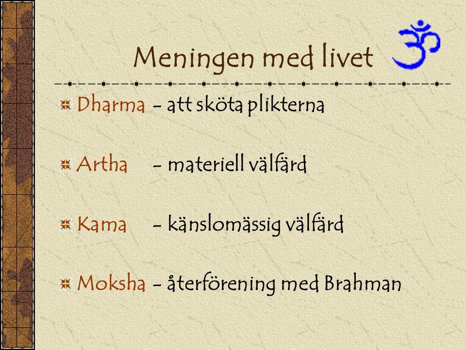 Meningen med livet Dharma - att sköta plikterna
